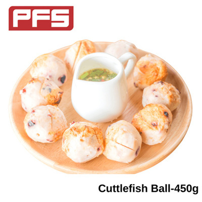 [CB Frozen Cuttlefish Ball] - 450g/pkt