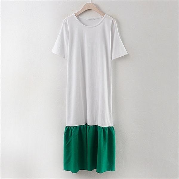 子供ウーマンビチプルワンピースBA1707ビックサイズnew 無地ワンピース/ワンピース/韓国ファッション