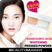 [BEAUTYMAKER]Tranexamic Acid Whitening Pressed Powder SPF50**❤Provides Sheer and Flawless Matte Finish❤Deliver Smooth Polished to Help Neutralize Skin❤Soothes Skin❤Enhance Brightness❤
