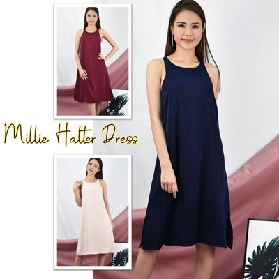 Millie Halter Dress