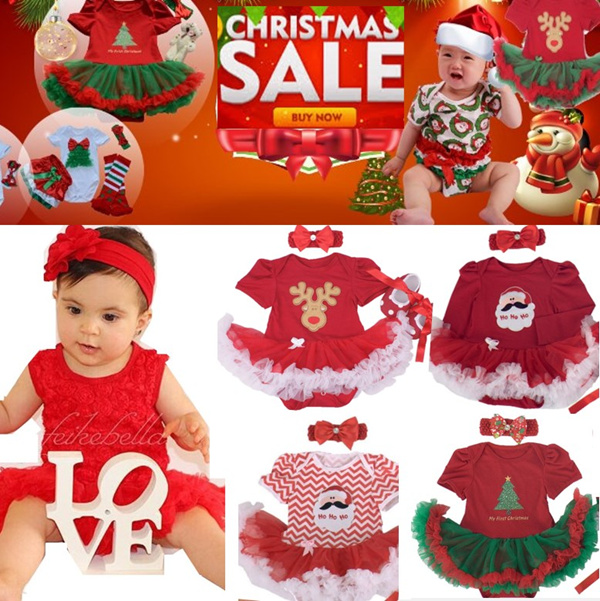 Christmas Sale-[Lovelyworld]-Cute and Nice Baby Girl Romper Deals for only S$9.9 instead of S$0