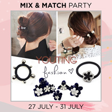 🎀💋30% OFF + Buy 1 Free 1 hair accessories💋🎀 hairband clip hair tie claw earring dress