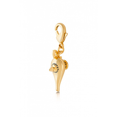 Disney Couture 14K gold plate Aladdin Lamp Pendant