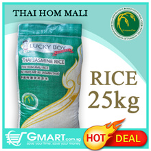 Lucky Boy Thai Hom Mali Jasmine Rice- 25Kg Bag