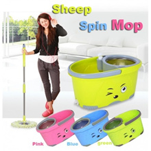 SHEEP SPIN MOP (Stainless Steel) - Dry/Wet Mop