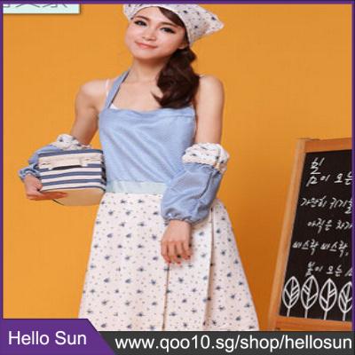 a035117ac2c Home Korean fashion pastoral style small fresh Home Furnishing Kitchen  Apron work tea shop work clot