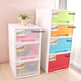 Movable Storage Box / Storage Drawer / Stackable/ Container Plastic/ Home Organization Organiser