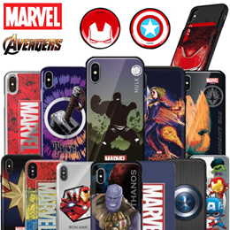 ★Authentic★Marvel Case★iPhone XS/Max/XR/8/7/6/S/Plus/Samsung S10/S9/S8/Note 9/8/5/A5/A7