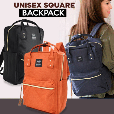 HOT SALE!! ANELLO Square Backpack!unisex Backpack|Best Seller in JAPAN?TERMURAH Deals for only Rp139.000 instead of Rp139.000