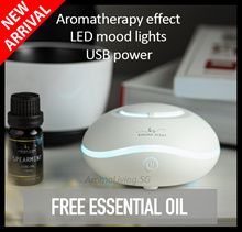►2018 LATEST!◄ Portable Aroma Diffuser | USB / Battery Powered  | 7 LED Lights  ★Free Essential Oil★