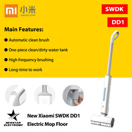 New Xiaomi SWDK DD1 Electric Mop Floor Cleaner Electric Sweeper Wet Mopping
