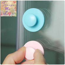 Cute Stick On Handle Easy Grip Holder For Doors Windows Cabinet Panda