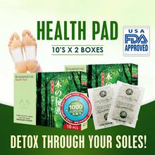 Kinohimitsu HealthPad 10+10s Highest Negative Ion 1000CC/pad! Reduce Stress Toxins Detoxify