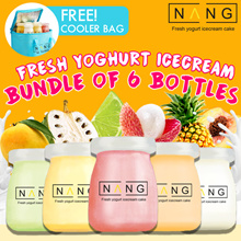Fresh Yogurt Ice Cream available in 6 Flavors !!! [ NANG ][ nanginabottle ] Handmade Fresh everyday