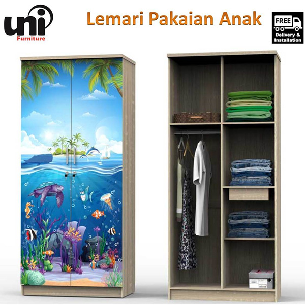 Lemari Pakaian Anak Deals for only Rp1.160.000 instead of Rp1.160.000