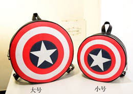 Captain America Shield Backpack Bag Comes in Big And Small Sizes
