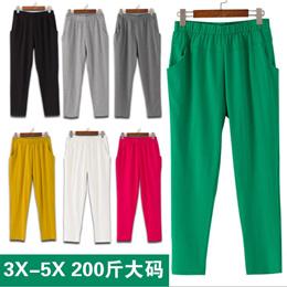 Ladies Pajamas of seven thin ladies summer home pants cotton women s Pajama pants casual pants