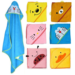 *BABY*[Cheapest in Town] Cute animal design hooded bath towel / blanket towels(2F-03)