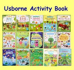 Restock 1 Nov ★Usborne activity book*Children book*Gift*Educational*Pre schooler* sticker book