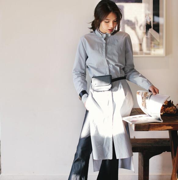 レディース 新作 シャツ 人気 OL ワンピース 通勤 マキシ ドレス