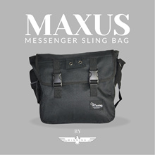 ★WINNING★ Maxus Messenger Sling Bag UNISEX [More Deals on our Website!] www.winningmktg.com