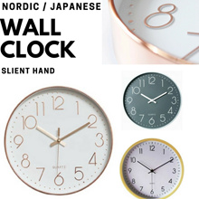 Minimalist Modern Wall Clock ( Silent Hand Quartz Movement ) - local warranty