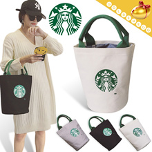 ◆STAR Canvas Bucket Tote Bags for Women◆ Daily n Picnic Bag-3 colors
