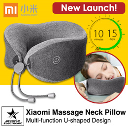Xiaomi LeFan Multi-function U-shaped Massage Neck Pillow [Auction]