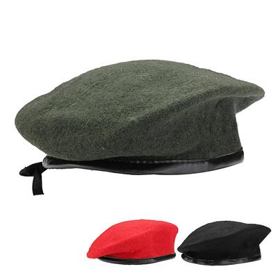 Qoo10 - New Unisex Men Women Military Soldier Army Hat Wool Beret ... 718fd89f57