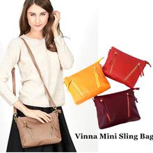 [ New Collection ] Vinna Mini Sling Bag / Tas Wanita / Clutch / 8 Warna