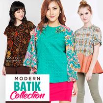 MODERN BATIK  COLLECTION - Reversible Blazer/Batwing - Rok Maxi Batik Skirt - Batik Dres-Batik Pants