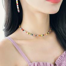 [SOO-SOO] Summer Breeze Vivid Color Necklace (19N936)