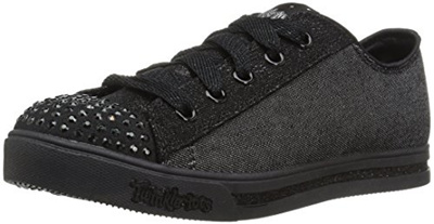 rock-bottom price sells hoard as a rare commodity Skechers Kids Sparkle Glitz-Roll Call Sneaker