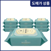 [Wholesale Only] Mamiyo Daily Baby Wet Tissue Cap Type 100 Sheets x 10 Pack