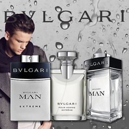 PERFUME BVLGARI MAN EXTREME BRAND NEW TESTER PACK 100ML EDT/BVLGARI POUR HOMME EXTREME MEN 100ML EDT/BVLGARI MAN 150ML FRAGRANCE