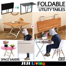 ★Multi-Purpose Utility Folding/Foldable Tables ★Dining/Computer/Laptop Table ★Storage ★Bookshelf