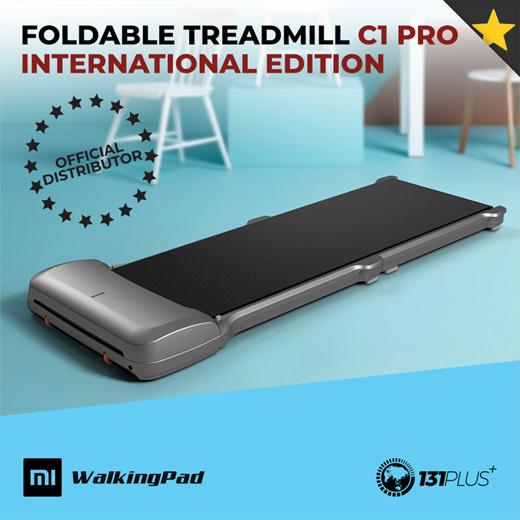 [S$449.00](▼36%)[Kingsmith]Xiaomi Kingsmith Foldable Treadmill C1 Pro [International Edition/ 6km/h/ APP Support/ CE Certified]
