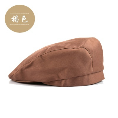 The hotel waiter custom work Beret Cap forward restaurant chef coffee hotel  uniforms hats 8a8d0e3a18b