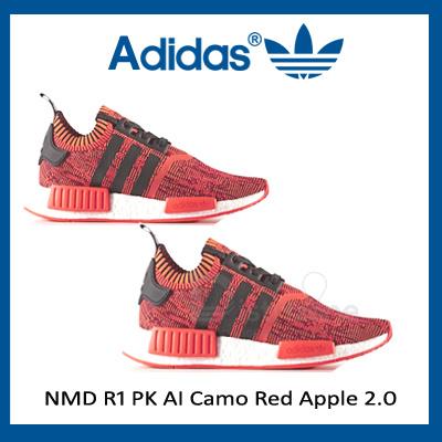 2a9d2b1742d6 Vmall」- Adidas NMD R1 PK AI Camo Red Apple 2.0 (Code  CQ1865)