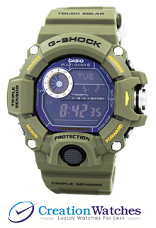 [CreationWatches] Casio G-Shock Rangeman Multi-Band Atomic GW-9400-3 Men s Watch