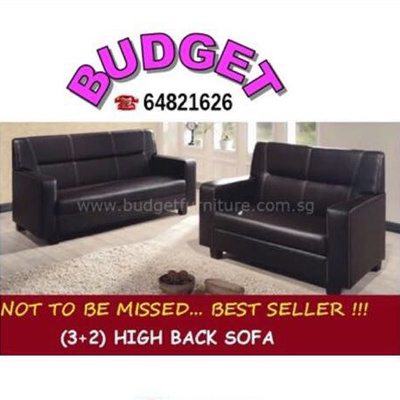 Budget Furniture Promo 3 2 Seaters Sofa Set Available In Colours Black