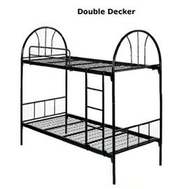 Metal Double Deck Bed/ Bunk Bed