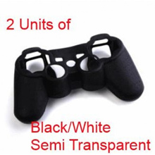PS3, PS4, Xbox360, Xbox One Silicone Protector * 2 black units