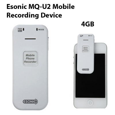 Esonic MQ-U2 SPY Cell Phone Call Recorder Mobile Conversation Recording  Device ( SG 1 year warranty )