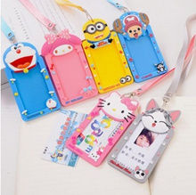 Ez-Link Card Holder Lanyard ID Cute Kids Students MRT Bus Card Goodie Bag School children day