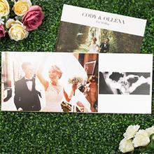 """24-Page 14""""x 11"""" Large Landscape Imagewrap Lay Flat Hardcover Photobook from Photobook Malaysia"""