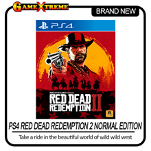 NEW SONY PS4 Red Dead Redemption 2 Normal Edition Newest Open World RPG