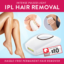 GSS IPL Hair Removal Hassle-Free Permanent Hair Remover/ Intense pulsed light