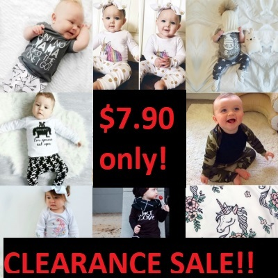 Qoo10 Baby Toddler Boy Clothing Set Clearance Sale Baby Maternity
