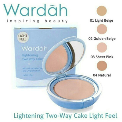 WARDAH Lightening TWC Light Feel - Golden Beige 02